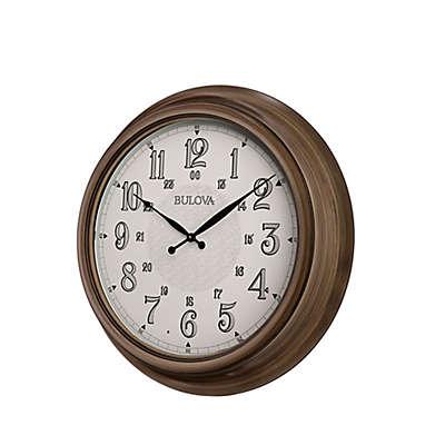 Bulova Key West Indoor/Outdoor Wall Clock
