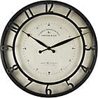 Stratton Home D Eacute Cor 11 75 Inch Gaston Wall Clock In Silver Bed Bath Beyond