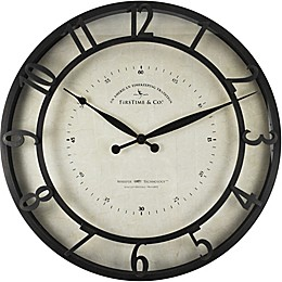 FirsTime® Kensington 18-Inch Whisper Wall Clock in Oil Rubbed Bronze