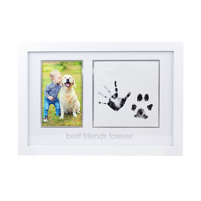 Alternate image 1 for Pearhead® Our Best Friends 4-Inch x 6-Inch Print Frame