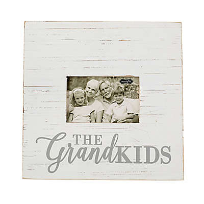 Mud Pie® The Grandkids 4-Inch x 6-Inch Picture Frame in White