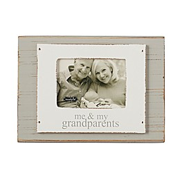 Mud Pie® Family 8-Inch x 10-Inch Picture Frame in Grey