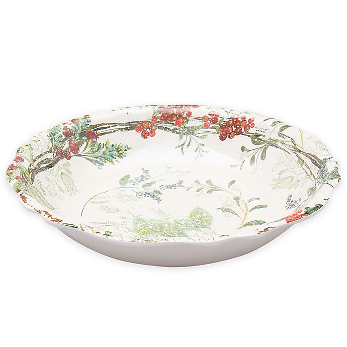 Alternate image 1 for Holiday Wreath Serving Bowl