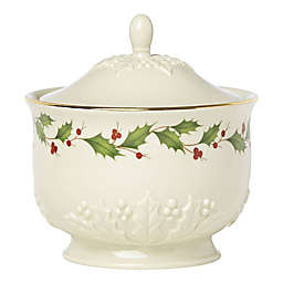 Lenox® Holiday™ Carved Treat Jar