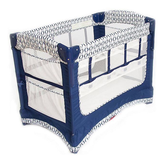 Alternate image 1 for Arm's Reach® Ideal Ezee™ 3-in-1 Co-Sleeper® in Blue Crescent