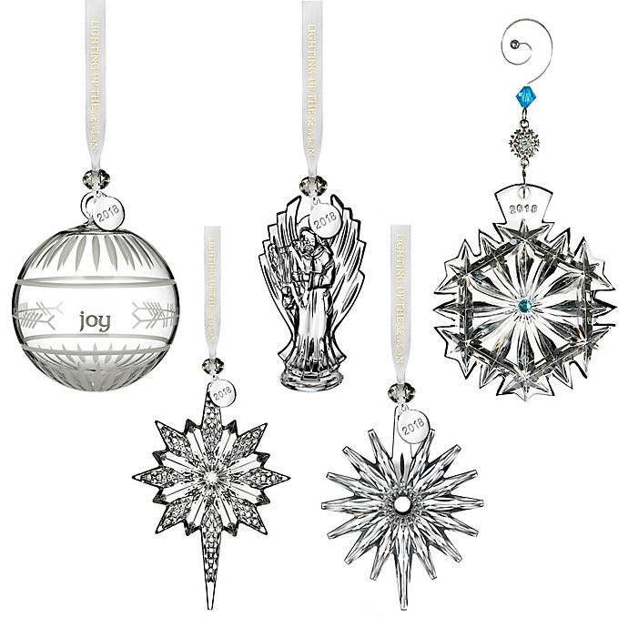 Waterford Crystal Christmas Ornaments.Waterford Annual Crystal Christmas Ornament Collection