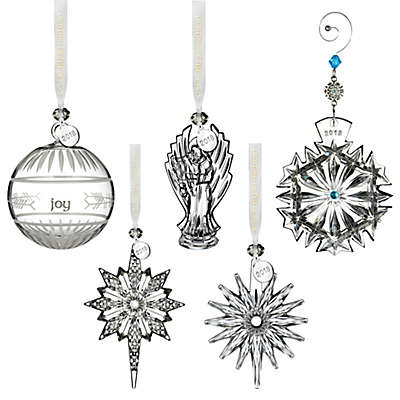 Waterford® Annual Crystal Christmas Ornament Collection