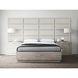 Vant Micro Suede Upholstered Headboard Panels in Neutral