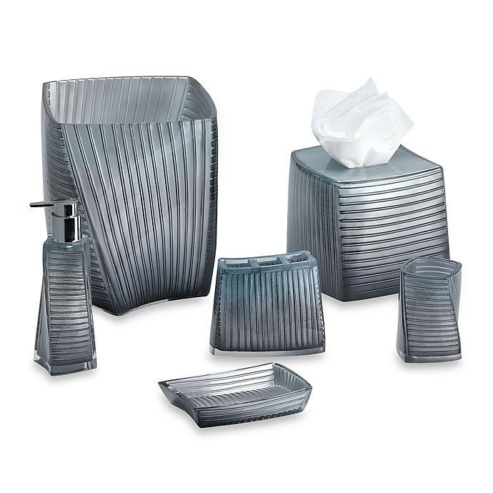 Croscill Kitchen Towels: Croscill® Fairfax Soap Dish In Slate