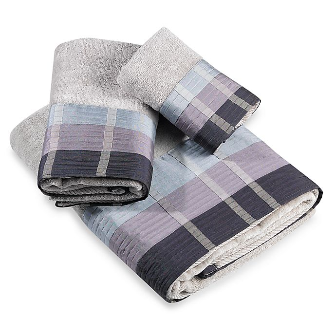 Croscill Hand Towels: Croscill® Fairfax Hand Towel In Slate