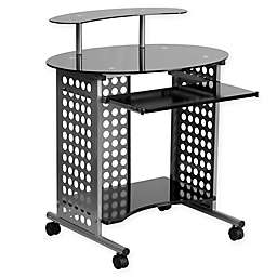Flash Furniture Cassini Mobile Desk in Black