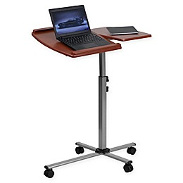 Flash Furniture Mobile Laptop Computer Desk in Cherry