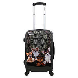Chariot 20-Inch Doggies Hardside Spinner Suitcase