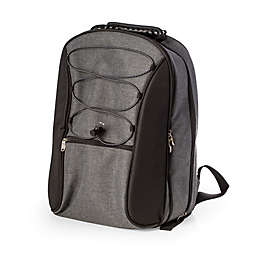 Bey-Berk 4-Person Picnic Backpack in Grey