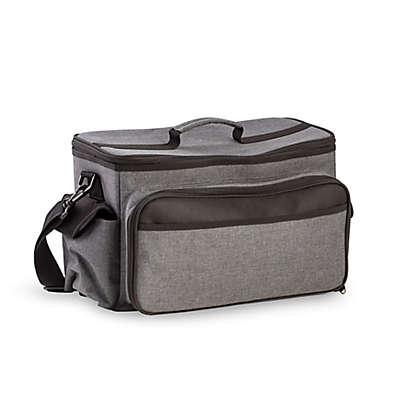 Bey-Berk BBQ Cooler with Accessories in Grey
