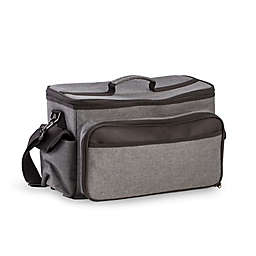 Bey-Berk BBQ Cooler with Accessories in Grey