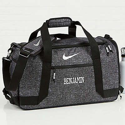 Nike® Embroidered Name Duffel Bag