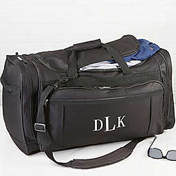 Deluxe Weekender Embroidered Duffle Bag