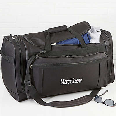 Deluxe Weekender Embroidered Name Duffel Bag