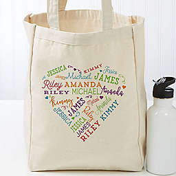 Close To Her Heart Petite Canvas Tote Bag