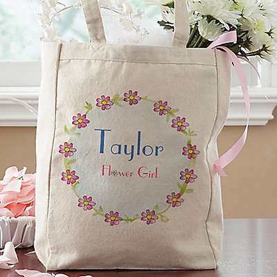 Flower Girl Petite Tote Bag