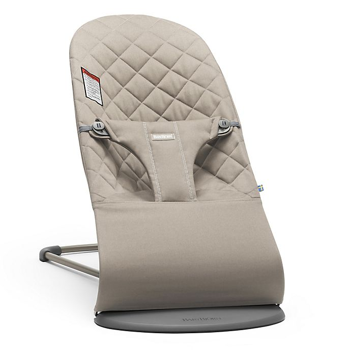 2cdd78e9d61 BABYBJORN® Bouncer Bliss in Sand Grey