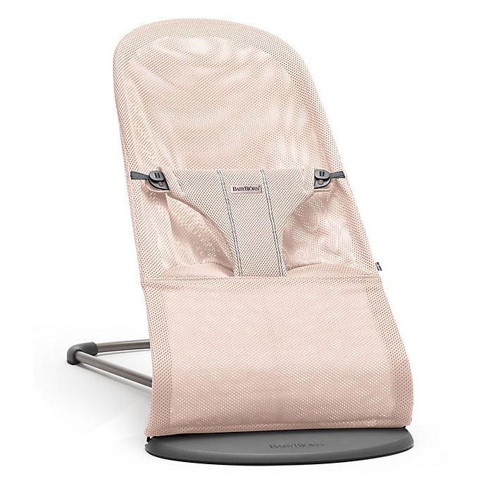 Alternate image 1 for BABYBJORN® Bouncer Bliss in Powder Pink
