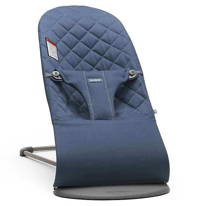 Alternate image 1 for BABYBJÖRN® Bouncer Bliss in Midnight Blue