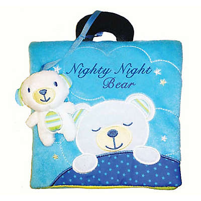 "Barron's Educational Series ""Nighty Night, Bear"" Cloth Book with Plush Bear"