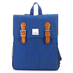 Perry Mackin Charlie School Backpack in Blue