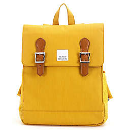 Perry Mackin Charlie School Backpack in Mustard