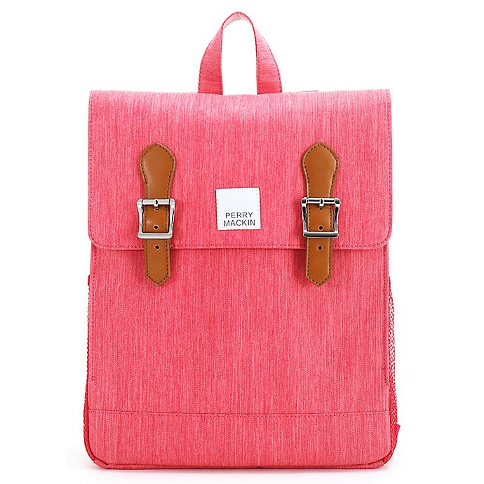 Alternate image 1 for Perry Mackin Charlie School Backpack in Pink