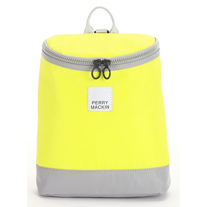 411c5291a3fe Perry Mackin Toddler Harness Backpack in Neon Yellow