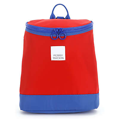 Perry Mackin Toddler Harness Backpack in Red