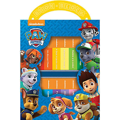 "Nickelodeon Paw Patrol ""My First Library"" 12-Piece Book Set (Spanish)"