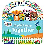 Baby Einstein Play & Learn Together  Flip-A-Flap Board Book by Minnie Birdsong