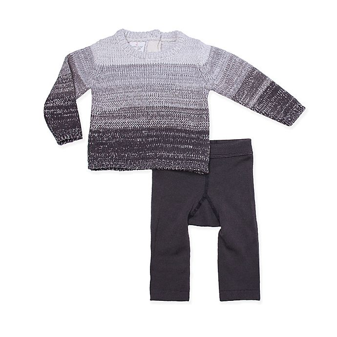 Cuddl Duds 174 Rocket Ship Top And Pant Set In Grey Buybuy Baby
