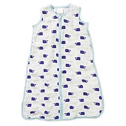 aden + anais® High Seas Muslin Wearable Blanket in Blue