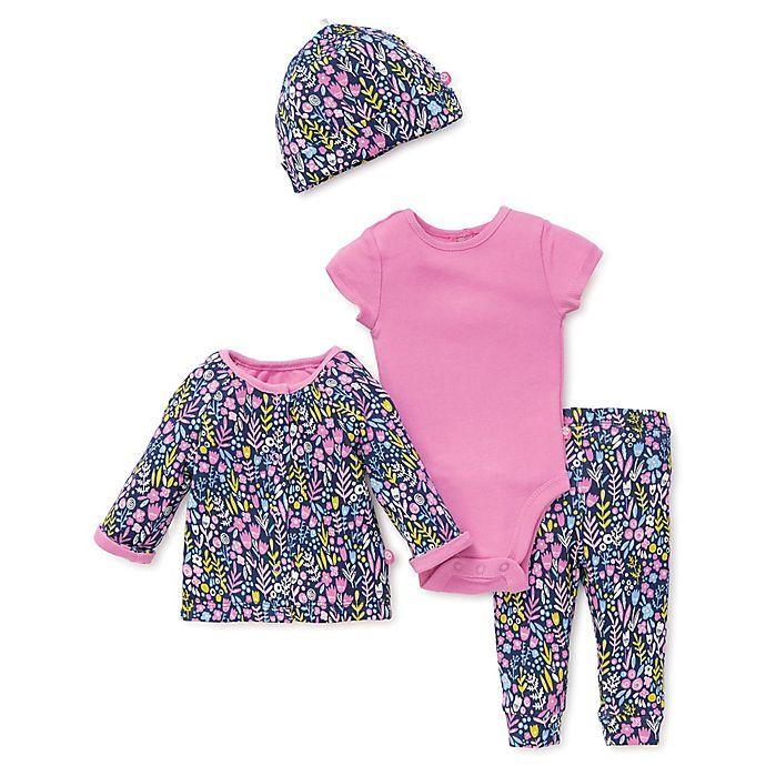 aa0d3b61616b Offspring® 4-Piece Take Me Home Floral Bodysuit
