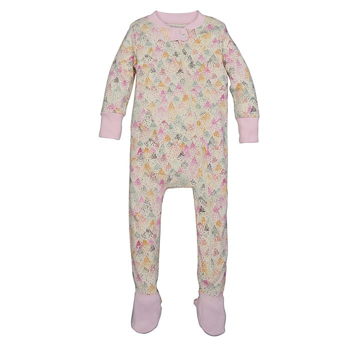 536994065 Burt s Bees Baby® Dotted Mountains Organic Cotton Footed Pajama in ...