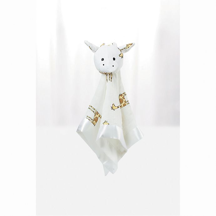 3b98cacbf aden + anais® musy mate™ Jungle Jam Giraffe Muslin Lovey in White ...