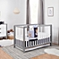 Part of the carter's® by DaVinci® Colby Crib Furniture Collection in Grey/White