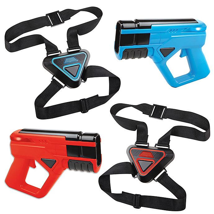 Alternate image 1 for Sharper Image® Laser Tag Shooting Game