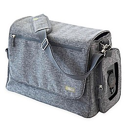 bbluv® Ultra Diaper Bag with 5 Accessories in Heather Grey