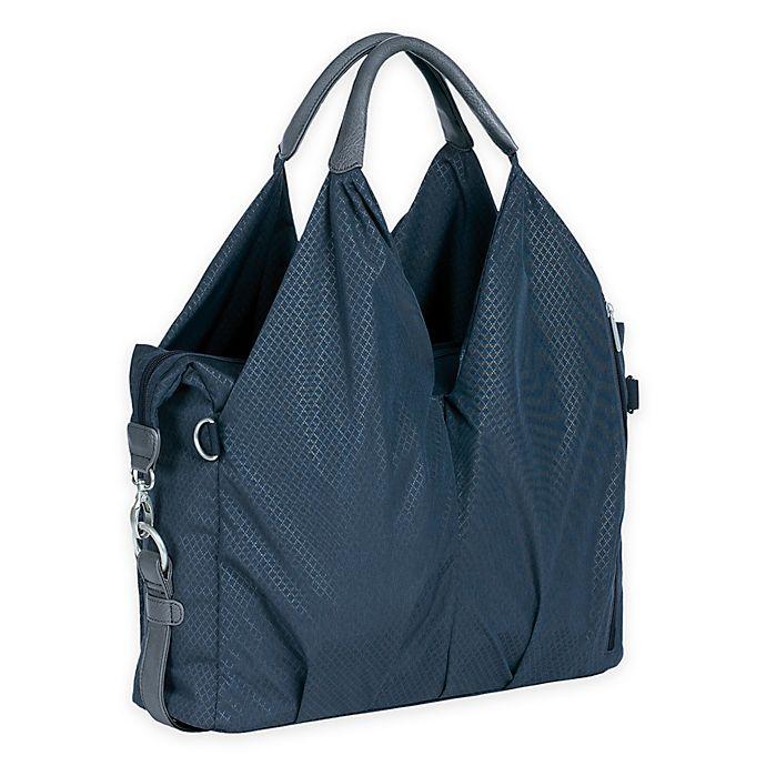 Alternate image 1 for Lassig Green Label Neckline Diaper Bag in Blue