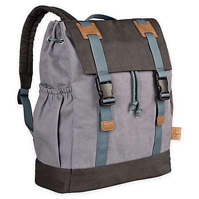 Lassig Vintage Little One & Me Backpack Diaper Bag in Grey