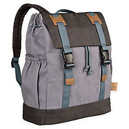 Lassig Vintage Little One & Me Backpack Diaper Bag in Grey