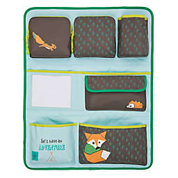 Lassig Little Tree Fox Backseat Car Organizer in Blue/Brown