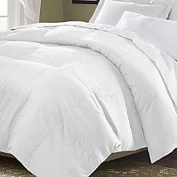 Kathy Ireland Home® by Gorham Microfiber Down Comforter in White