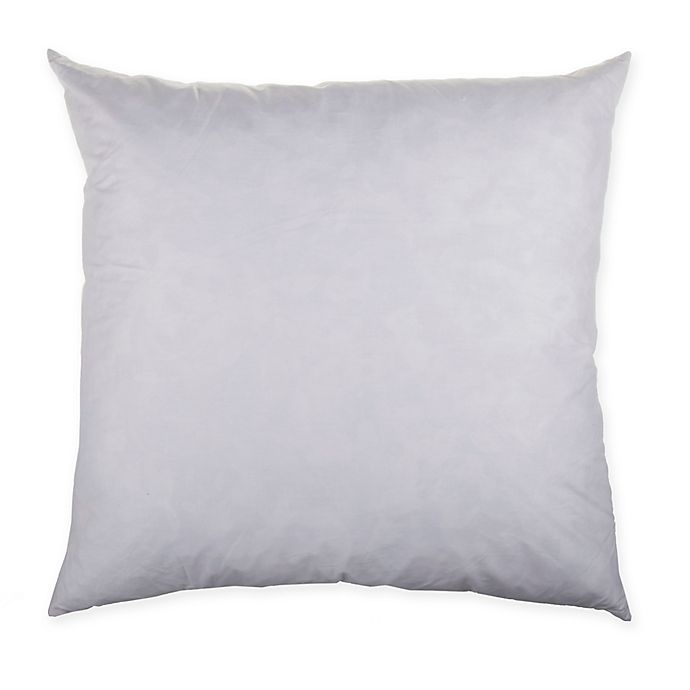 Square Throw Pillow Feather Insert